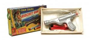 dan dare rocket gun fishing