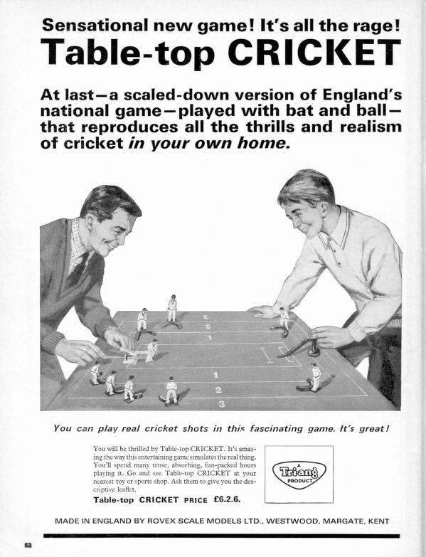 Rovex cricket advert
